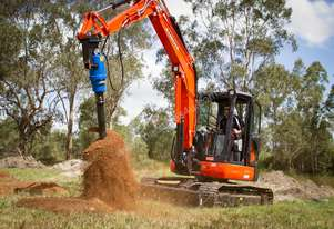 New Auger Torque Auger Drive - 8000MAX (S5) Earth Drill to suit 4.5-8.0T Excavator