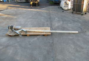 Stainless Auger Feeder Screw Conveyor - 3m long