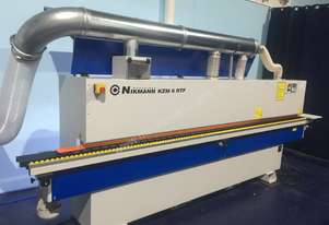 Heavy Duty Edgebanders with Corner Rouder and Pre Milling + Dust extractor