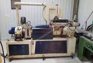Plastic FILM RECYCLING LINE W/Water Ring Pelletiser and Cooler