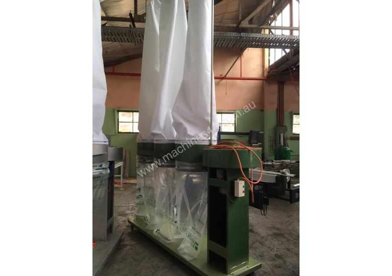 GJ Wheeler 3 Bag Dust Collector