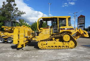 Caterpillar D6R XW Bulldozer w Stick Rake & Tree Spear DOZCATRT