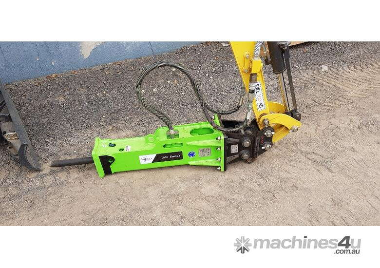 NEW HYDRAULIC BREAKER ATTACHMENTS