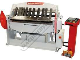 PB-440 Hydraulic NC Panbrake - NC-89 Control 1300 x 4mm Mild Steel Bending Capacity - picture0' - Click to enlarge