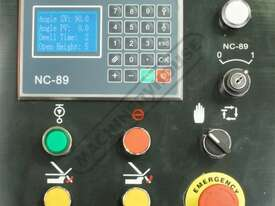 PB-440 Hydraulic NC Panbrake - NC-89 Control 1300 x 4mm Mild Steel Bending Capacity - picture2' - Click to enlarge