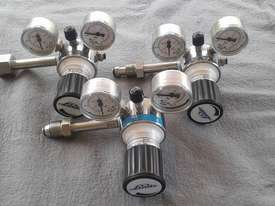 Full set (6 off) CO2 Laser machine gas regulators - picture0' - Click to enlarge