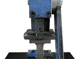 Bramley Hand Lever Sheet Metal Punch  - picture0' - Click to enlarge