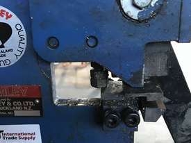 Bramley Hand Lever Sheet Metal Punch  - picture1' - Click to enlarge