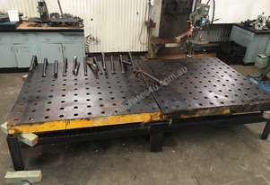 Custom Made Large Welding Table And Frame