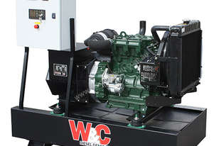 12kVA, Three Phase, Lister Petter Open Standby Generator
