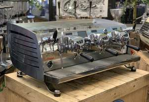 VICTORIA ARDUINO BLACK EAGLE VOLUMETRIC 3 GROUP ESPRESSO COFFEE MACHINE