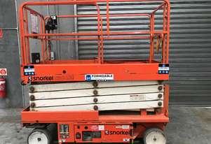 Snorkel S2646  Scissor Lift Access & Height Safety