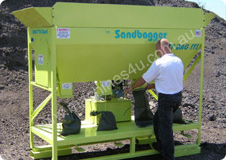 SandBagger Machine