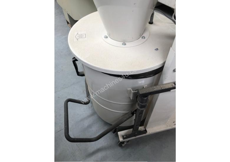 Cyclone Extractor with filter cartridge