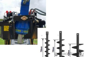 Auger Package - Auger Drive, 200mm, 300mm, 450mm Auger Package