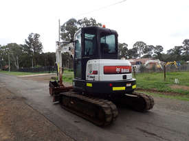 Bobcat E50 Tracked-Excav Excavator - picture2' - Click to enlarge