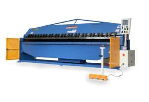 New eBend 2 Axis NC Programmable Panbrake Folder is Here