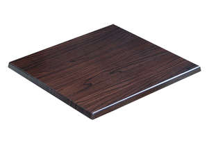 BLH-S66DW Square 600 Table Top - Dark Walnut