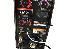 Lincoln LN25 Pro MIG Welder Remote Wire Feeder Suitcase Heavy Duty Industrial - picture0' - Click to enlarge