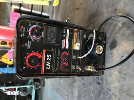 Lincoln LN25 Pro MIG Welder Remote Wire Feeder Suitcase Heavy Duty Industrial - picture1' - Click to enlarge