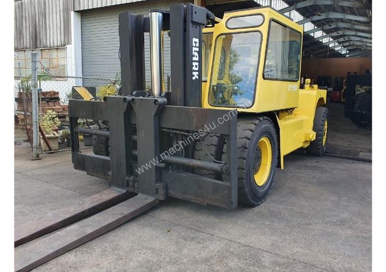 22T Clark Container Handler (3m Lift) Diesel C500 (SALE or HIRE)