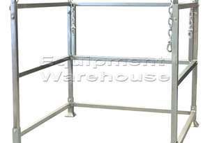 Bulk Bag Stand 1350 x 1250mm Adjustable Height Seetting