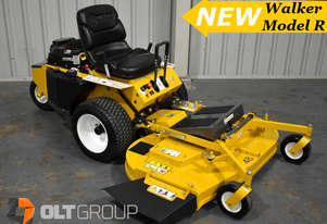 Walker Mower Model R Series Zero Turn Mower 21hp Petrol 48 Inch Side Discharge Deck