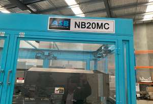 Stretch blow moulding and injection moulding