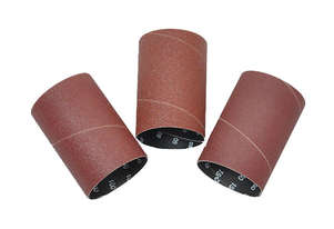 3Pce x 115mm x Assorted Grit Sanding Sleeves 50-45303 for use with 50-300 Oscillating Bobbin Sander