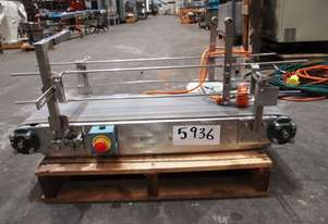 Flat Belt Conveyor, 950mm L x 290mm W