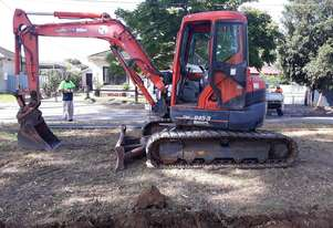 USED 2012 KUBOTA U45-3 U3860 MINI EXCAVATOR
