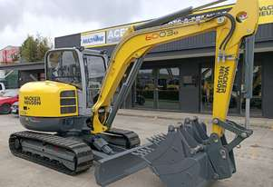 NEW 2018 WACKER NEUSON 6003 EXCAVATOR + BUCKETS & QUICK HITCH