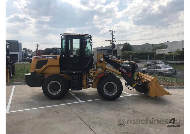 SUMMIT 925 103HP 5.3T WHEEL LOADER with 4 in 1 bucket & fork