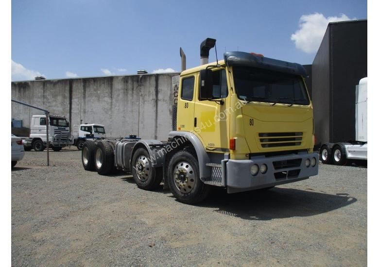 2013 IVECO 2350G ACCO 8X4 CAB CHASSIS