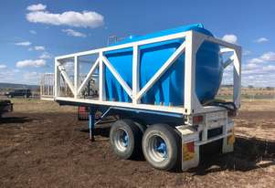 water tank chemical induction rig