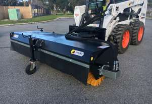 Himac Skid Steer Rotary Angle Broom