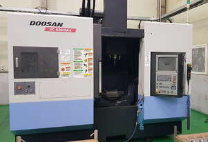 2011 Doosan VC630-5AX Simultaneous 5-axis Vertical Machining Centre