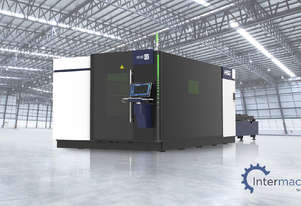 HSG 4020T 8kW Fiber Laser Cutting Machine (IPG source, Alpha Wittenstein gear)