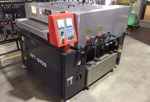 Amada De-Burring Machine, in good working order, supplied with spare ceramic wheel.