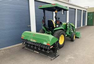 Aerator, tractor & loader hire