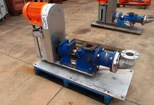 Helical Rotor Pump, IN/OUT: 80mm Dia