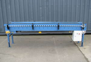 Variable Speed Motorised Roller Conveyor - 3m long