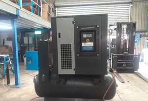 30HP 120cfm Rotary Screw Compressor W/ Integrated Air Dryer - Pneutech RS3000-TR