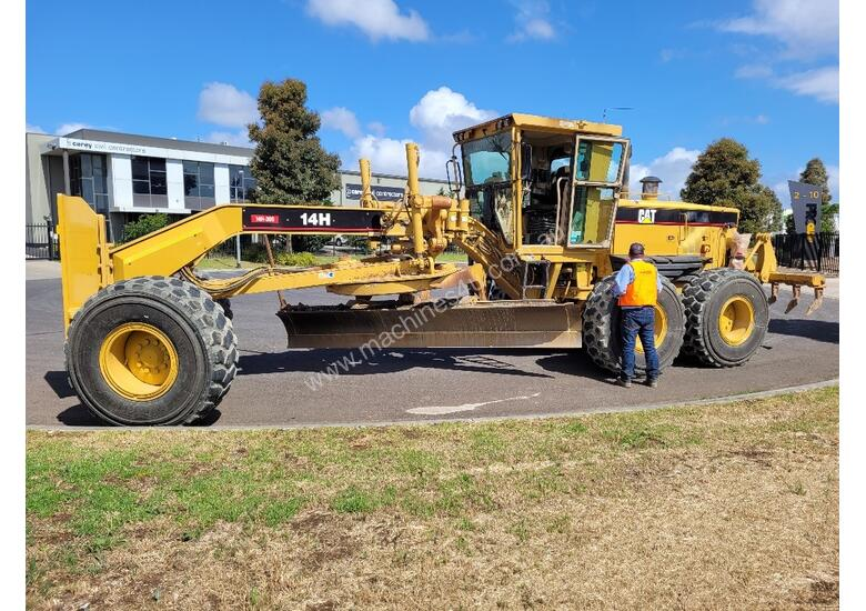 2005 CAT 14H GRADER WIRED FOR TOPCON GPS. 13,515 HOURS.
