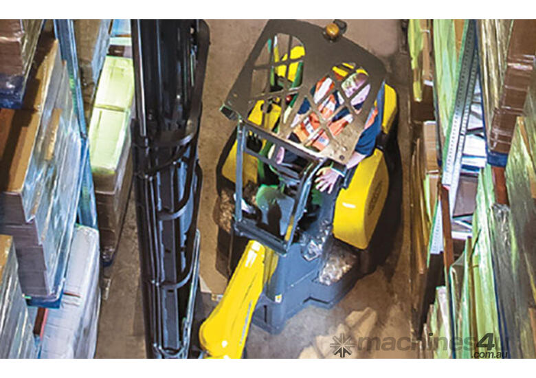 Narrow Aisle Articulated Forklift
