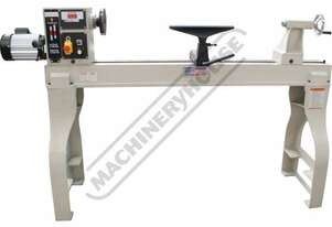 WL-46A Electronic Variable Speed Wood Lathe Ø462mm Swing x 1194mm Between Centres