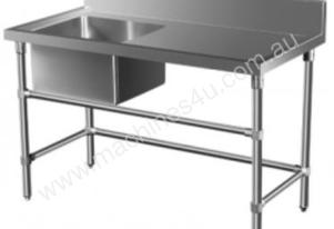 Brayco SS-N Single Bowl Stainless Steel Sink (700m