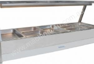Hot Foodbar -Roband E25 Double Row Straight Glass