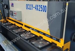 CMT 4MM X 2500MM HYDRAULIC GUILLOTINE PRICE CUT!