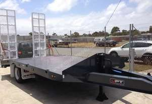 2015 Custom UPT Single Axle Plant Trailer